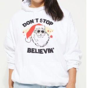 Tops - Don't Stop Believin' Plus Size Hoodie